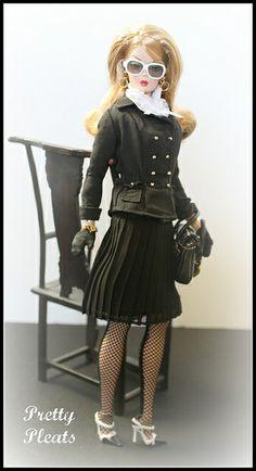 Pretty Pleats Barbie doll | Flickr