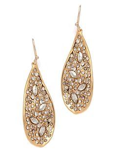 Stunning. Alexis Bittar teardrop earrings. $245