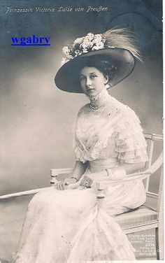 Princess Victoria Luise of Prussia (born Princess Royal Victoria Louise 'Vicky' of Great Britain)