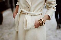 Day coats with waist ties