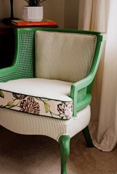 """Chair """"after"""" makeover"""