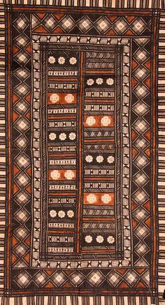 Fijian Tapa Cloth, Masi