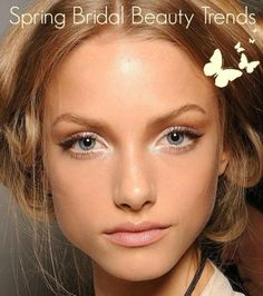 So trulovers own up, did you make New Year's beauty resolutions and have you stuck to them? If not and you still haven't cleared out those old beauty products cluttering up your make up bag, then today's guest post by FWS Resident Hair and Beauty Expert Victoria Farr on the latest Spring Bridal Beauty Trends, will encourage you.