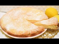 Crostata di crema pasticcera al limone - YouTube Quiches, Italian Easter Cookies, Biscotti, Apple Pie, Allrecipes, Deserts, Food And Drink, Sweets, Cooking