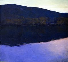 Dublin Pond by Rockwell Kent (1882-1971, United States)