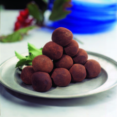 pepparkakstryffel Christmas Truffles, Winter Christmas, Sweden, Sausage, Snacks, Chocolate, Fruit, Vegetables, Desserts
