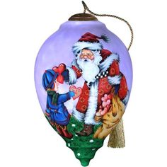 "Christmas Ball Ornament ""Give Your Heart"" Ne'Qwa Christmas Jar Is A Motif of Mary Angel Widescreen - Ne'Qwa Type Inside Glass Painting Ne`Qwa Art TM http://www.amazon.co.uk/dp/B0067HP0QE/ref=cm_sw_r_pi_dp_6Ibbxb0C4DB47"