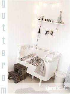 White Kids Room - Sebra Kili cot as toddler bed