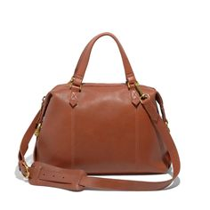 Madewell  the leather caravan satchel (ONE SIZE)
