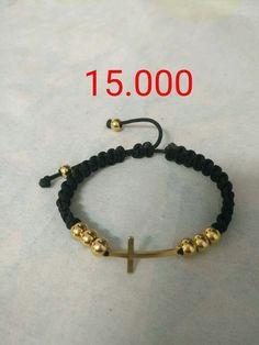 Macrame Bracelet Diy, Bracelet Knots, Macrame Jewelry, Bohemian Jewelry, Beaded Bracelets, Simple Bracelets, Handmade Beaded Jewelry, Leather Jewelry, Jewelry Making