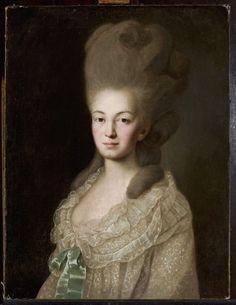 Cyfrowe Muzeum Narodowe w Warszawie - Portret Ludwiki z Zyberków Borchowej, żony Jana, kanclerza wielkiego koronnego