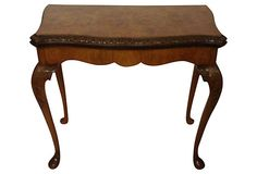Carved Queen Anne-Style Game Table on OneKingsLane.com
