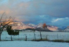 Needlerock View in Winter