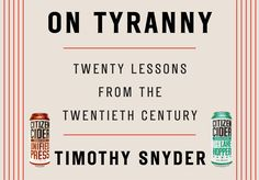 Episode On Tyranny by Timothy Snyder – The Drunk Guys Book Club Podcast Political Books, In High School, The Twenties, Good Books, Politics, Club, Guys, Reading, Awesome