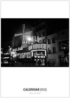 Paris, by Night, a new calendar for sale http://www.redbubble.com/people/golan22may/calendars/13138024-paris-by-night