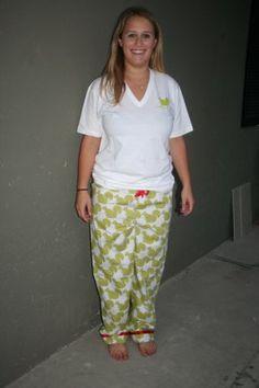 Alpha Gamma Delta Pajama Pants