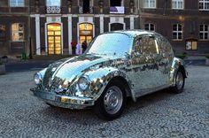 mirror ball VW beetle