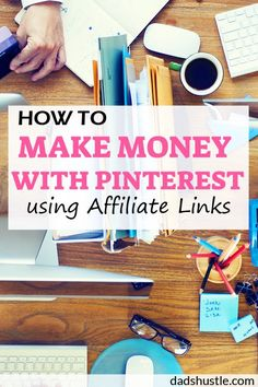 How To Make Money With Pinterest Using Affiliate Links: Yes, finally! Pinterest now allow affiliate links IN THE PINS. Which means you can get the traffic straight from pinterest into the affiliate offer and not actually lose any traffic in the process. Check out my guide on how to make money on Pinterest quickly and easily using affiliate links.