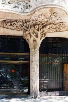 Art Nouveau - Casa Antonia Burés - 42 - 46 Carrer d'Ausiàs Marc - Enric Pi Julius Batllevell - Plans de Juli Batllevell i Arùs - 1903-06
