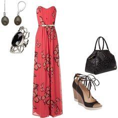 Pink Maxi Dress!