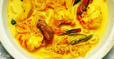 Pumpkins are grown in abundance in Indian and come in a wide range of colours and sizes. The vegetable goes particularly well with prawns and coconut milk, as seen in this tasty Konju Pulungari curry.