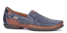 Pikolinos mens shoes Penza mens slip on shoe #Leather #Navy #Brown #Casual #mens #shoes