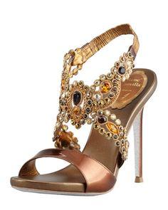 rene caovilla_jeweled_bronze_shoes