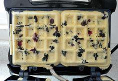 Waffles sin gluten y sin lácteos www.pizcadesabor.com