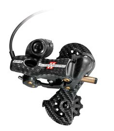 Electronic Campagnolo -Nobody said that making an electronic shifting system would be easy, but Campagnolo doesn't think of engineering in terms of easy, they think in terms of necessity. For twenty years, Campagnolo engineers have been obsessed with creating the most precise rear derailleur in the world