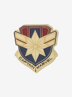 Fly high and stay strong with Carol Danvers. A gold, red and blue Captain Marvel insignia is now an enamel Marvel pin! Marvel Heroes, Captain Marvel, Marvel Avengers, Intense Love, Jacket Pins, Pin And Patches, Marvel Cinematic Universe, Drawing Reference, Chevrolet Logo