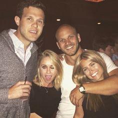 Becca Tobin with friends