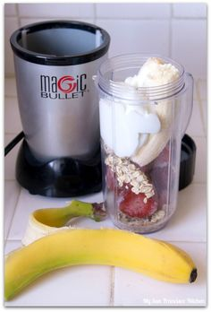 Illusions Vinyl Fence tasty recipe pick: strawberry, banana, oatmeal smoothie.