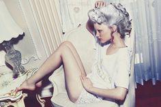 white hair, grey hair, gray hair, marie antoinette, silver hair