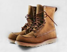 Red Wing boots...