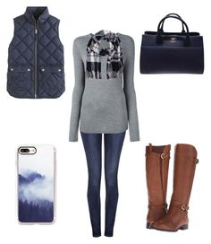 """11/5/16"" by a-hidden-secret ❤ liked on Polyvore featuring Koral, T By Alexander Wang, J.Crew, M&Co, Naturalizer, Chanel and Casetify"