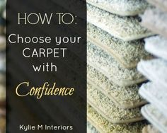 How to choose carpet for your home. Undertone and color ideas and tips. #KylieMInteriors #Carpet #Undertone