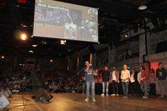 Categoria Web Quadrinhos. Vencedor: Bátima - Feira de Fruta. Autores: Fernando Pettinati e Antônio Carlos Camano