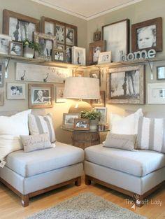 Rustic farmhouse living room design and decor ideas (20)