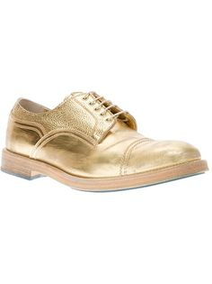 golden shoes by acne. Acne Studios, Golden Shoes, Bowling Shoes, Brogues, My Wardrobe, Cool Style, Oxford Shoes, Dress Shoes, Lace Up