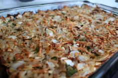 Dairy-Free Hashbrown Casserole-Only 2 Weight Watchers Points Plus! Kids begged for more!!!Never know it was low in fat and calories!