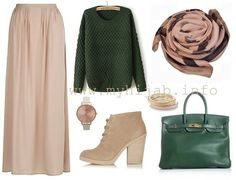 . Maxi Outfits, Hijab Outfit, Modest Outfits, Classy Outfits, Chic Outfits, Hijab Dress, Hajib Fashion, Modesty Fashion, Muslim Fashion