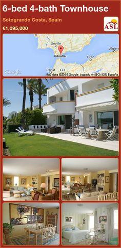 Townhouse for Sale in Sotogrande Costa, Spain with 6 bedrooms, 4 bathrooms - A Spanish Life Bedroom With Ensuite, Double Bedroom, Garden Levels, Home Cinemas, Next Door, Patio Doors, Beach Club, Dining Area, Game Room