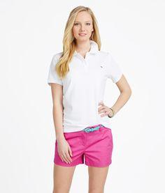 Women's Polo Shirts: Classic Short Sleeve Polo Shirt– Vineyard Vines