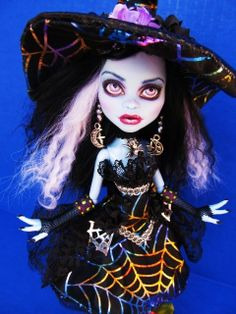 Abby Bominable OOAK Witch Monster High Custom Doll | Flickr - Photo Sharing!