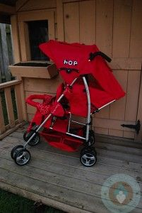Kinderwagon Hop Stoller - Double Umbrella Stroller