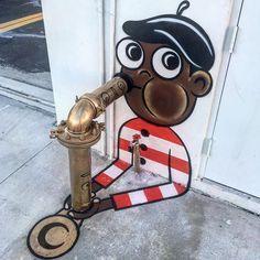 """1,069 curtidas, 7 comentários - Hypeness (@hypeness) no Instagram: """"Arte de rua, por: @tombobnyc — • — #hypeness #streetart #artederua #graffiti — • — Quer ver seu…"""""""