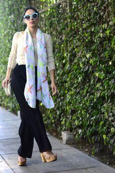 OUTFIT: Cómo usar pantalones anchos para mujer | SKLUSSIV PERU