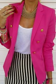 i have this blazer and LOVE this look . Nice to see it in an outfit !