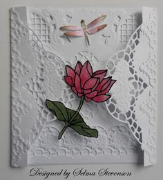 This card was made using Marianne dies and Elizabeth Craft Peals which can be purchased at Joan's Gardens  www.atjoansgardens.com