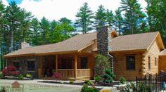Retreats - Camps | Real Log Homes